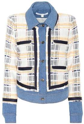 Veronica Beard Santiago mixed-cotton jacket