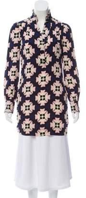 Diane von Furstenberg Silk Patterned Tunic