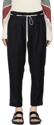 SASQUATCHfabrix. Navy Big Kung Fu Pants