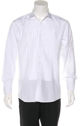 Ralph Lauren Black Label Tuxedo French Cuff Shirt