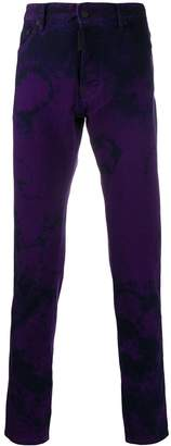 DSQUARED2 slim tie-dye jeans