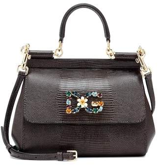 9e095b5cfb7d Dolce   Gabbana Miss Sicily Small leather shoulder bag