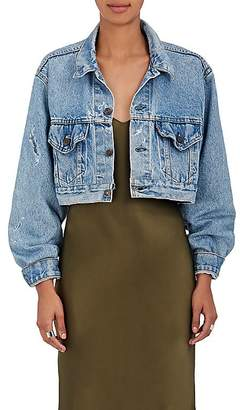 RE/DONE Women's Denim Crop Jacket