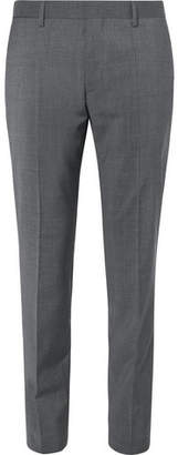HUGO BOSS Grey Genesis Slim-Fit Wool And Cashmere-Blend Suit Trousers - Men - Gray