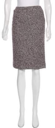 Agnona Alpaca & Virgin Wool Skirt