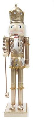 L'ge Unspecified Gold-Tone Nutcracker Decoration