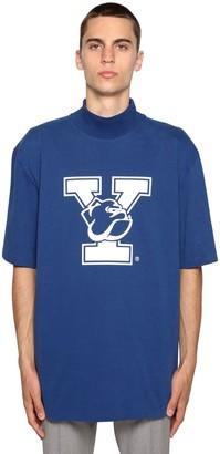 Calvin Klein University Printed High Collar T-Shirt