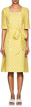 Lisa Marie Fernandez Women's Diana Polka Dot Linen Dress