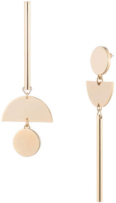 Trina Turk GOLDEN STATE ASYMMETRICAL LINEAR EARRING