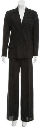 Gucci Striped Wide-Leg Pantsuit $145 thestylecure.com
