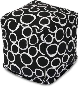 Majestic Home Goods Fusion Cube Pouf Ottoman