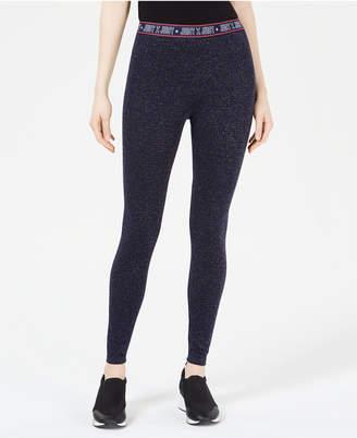Juicy Couture Sparkle Logo-Waist Leggings