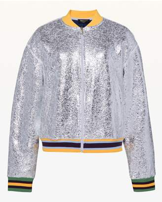 Juicy Couture Juicy Forever Crackle Foil Bomber Jacket