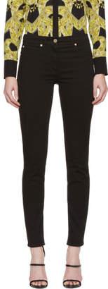 Versace Black Medusa Skinny Jeans