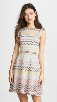 M Missoni Ruffle Bib Dress