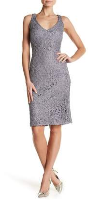 Marina Sleeveless Lace Dress
