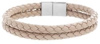 Ben Sherman Braided Faux Leather Bracelet