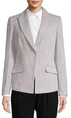 Calvin Klein Textured Tweed Jacket