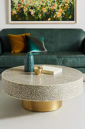 Anthropologie Targua Scrolled Vine Coffee Table