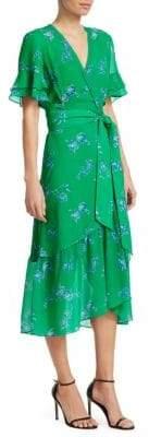 Tanya Taylor Blaire Floral-Print Dress