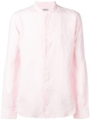 Ermenegildo Zegna band collar shirt