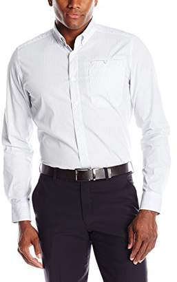 Kenneth Cole New York Men's LS Bdc Besom Check