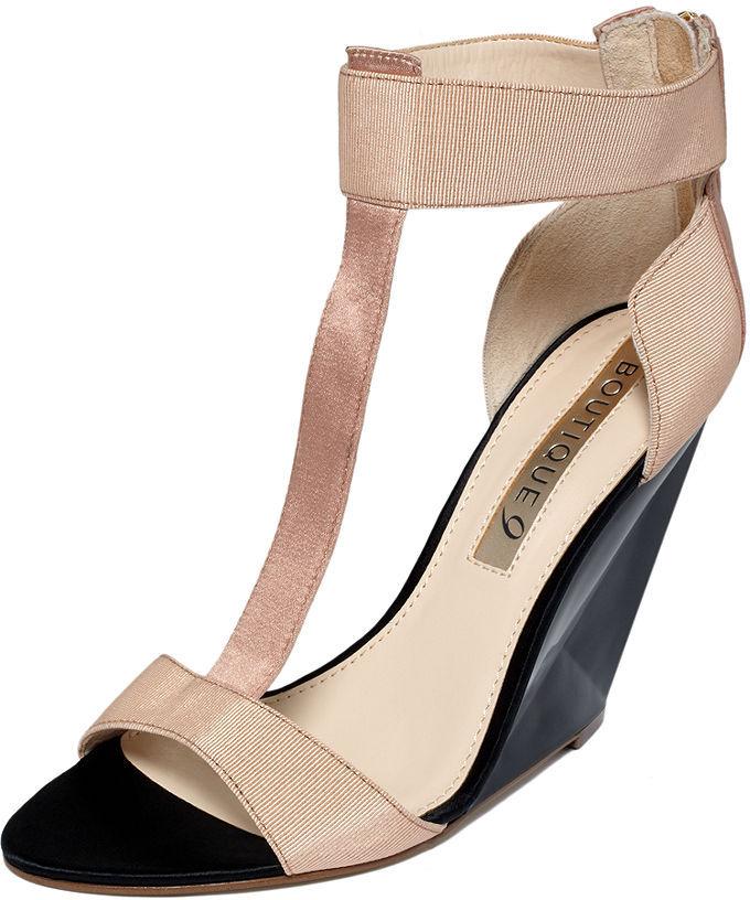 Boutique 9 Shoes, Linya Wedge Sandals