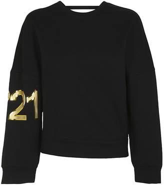 N°21 N.21 Logo Print Sweatshirt