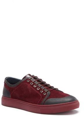 Badgley Mischka Garfield Suede & Leather Sneaker