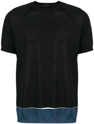 Prada hem band T-shirt