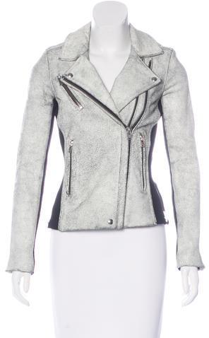 IROIro Textured Leather Jacket