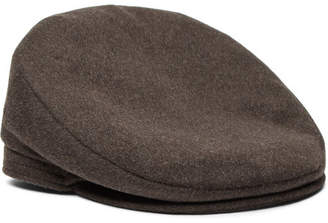 Lock & Co Hatters Oslo Mélange Wool and Alpaca-Blend Flat Cap
