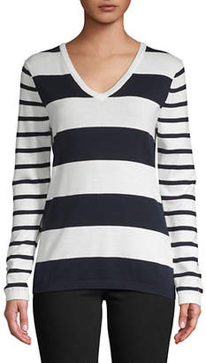 Tommy Hilfiger Ivy Rugby Striped Cotton Sweater