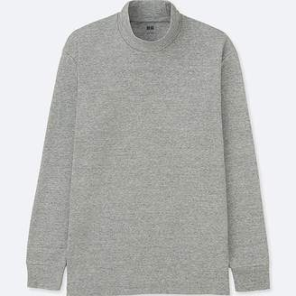Uniqlo Men's Soft Touch Mock Neck Long-sleeve T-Shirt