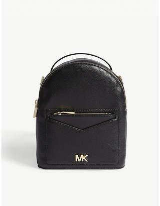 MICHAEL Michael Kors Jessa small leather cross-body backpack