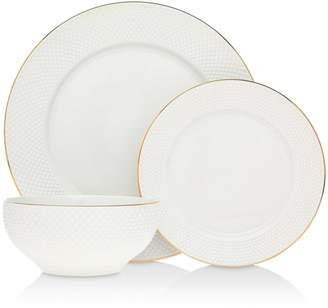 Godinger Pique 24K Gold 18-Piece Dinnerware Set - 100% Exclusive