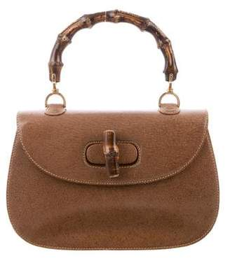 Gucci Vintage Bamboo Top Handle Bag