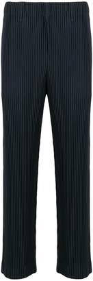 Issey Miyake Homme Plissé ribbed style trousers