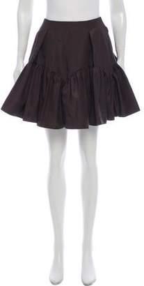 Kenzo Ruffled Mini Skirt