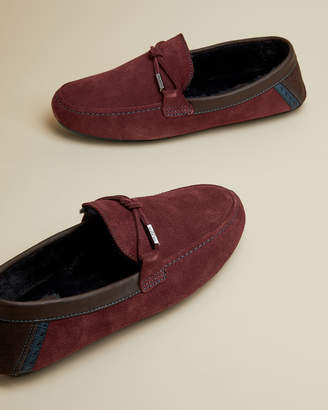 Ted Baker VALCENT Suede slippers