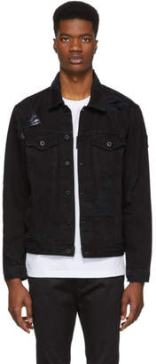 Diesel Black Denim D-Hill Jacket