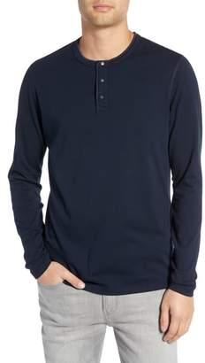 Reigning Champ Long Sleeve Henley T-Shirt