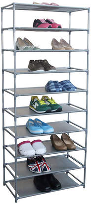 HOME BASICS Home Basics 30-Pair Non-Woven Shoe Shelf