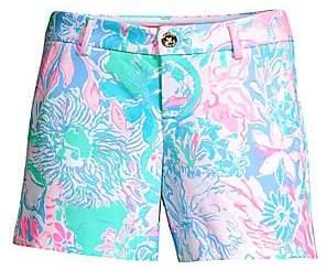 Lilly Pulitzer Women's Callahan Tropical Print Shorts