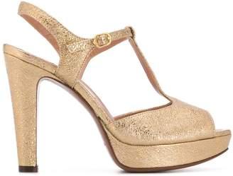 L'Autre Chose T-bar heeled sandals