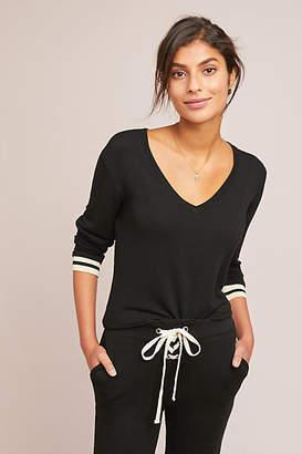 Monrow Sporty V-Neck Pullover