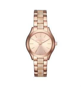 Michael Kors Mini Slim Runway Rose Gold Wat