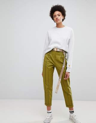 Asos DESIGN Tailored Utility PANTS with Seam Detail