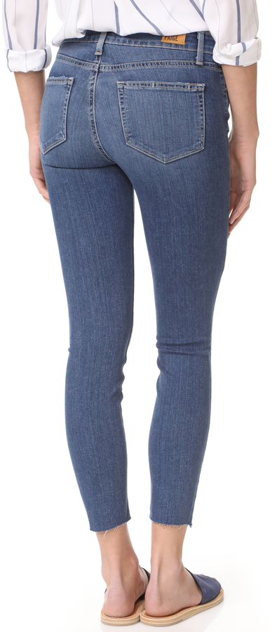 PAIGE Verdugo Crop Skinny Jeans 5