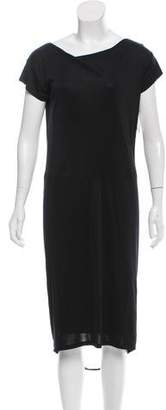 Alberta Ferretti Short Sleeve Midi Dress w/ Tags